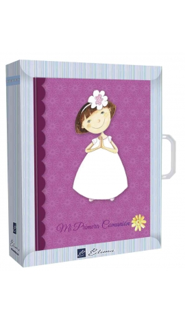 Libro de Firmas Comunión + Maletín Edima 500610