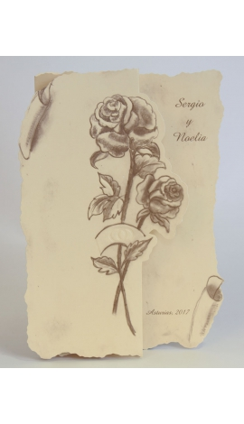 Tarjeta de Boda Edima 100133