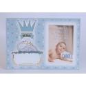 Pack 20 invitaciónes Nacimiento + sobre azul DIY Edima 170651