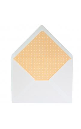 Pack 25 Sobres 155x210 Blanco Edima + Forro Interior