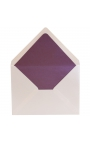 Sobre 155x210 Blanco Brillo Edima + Forro Interior