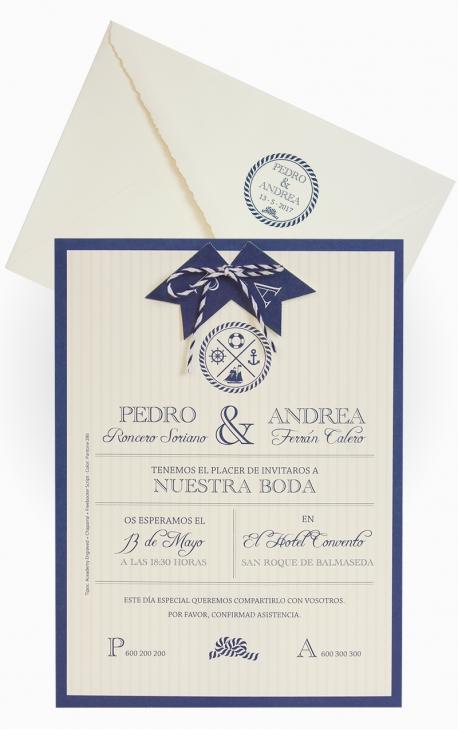 INVITACIÓN DE BODA EDIMA 100.710