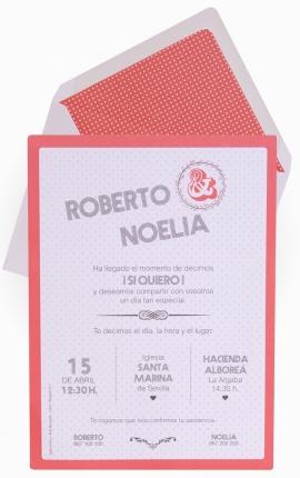Tarjeta de Boda Edima 100702