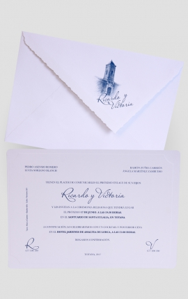 Tarjeta de Boda Edima 100548