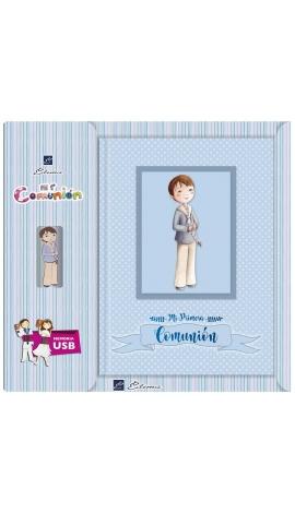 Libro de Firmas Comunión + Memoria USB 8GB Edima U500841