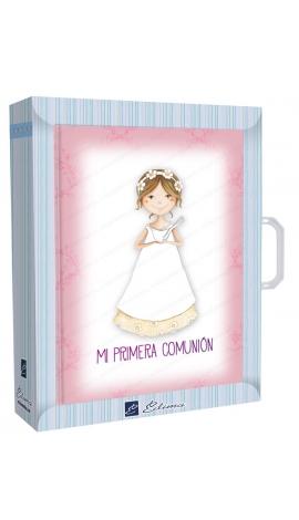 Libro de Firmas Comunión + Maletín Edima 500726