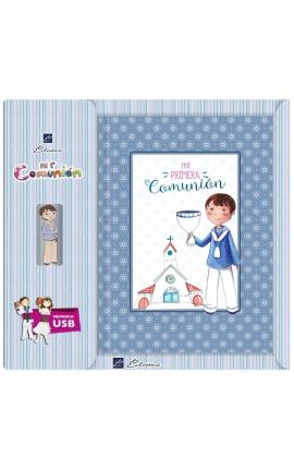 Libro de Firmas Comunión + Memoria USB 16GB Edima U500843