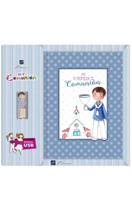 Libro de Firmas Comunión + Memoria USB 8GB Edima U500843
