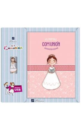 Libro de Firmas Comunión + Memoria USB 16GB Edima U500846