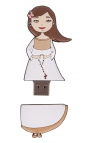 Libro de Firmas Comunión + Memoria USB 8GB Edima U500846
