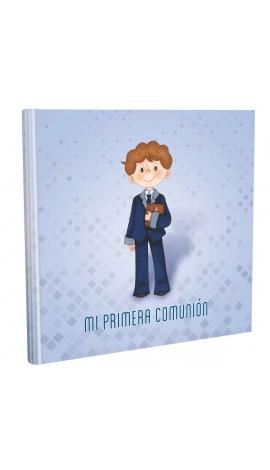 Libro de Comunión cuadrado con Estuche Lujo Edima 500853