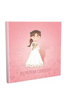 Libro de Comunión cuadrado con Estuche Lujo Edima 500854