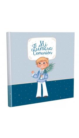 Libro de Comunión cuadrado con Estuche Lujo Edima 500855