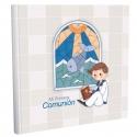 Libro de Comunión cuadrado con Estuche Lujo Edima 500857