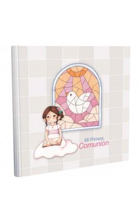 Libro de Comunión cuadrado con Estuche Lujo Edima 500858
