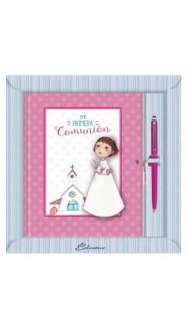 Diario de Comunión con Boligrafo y Candado Edima 520844