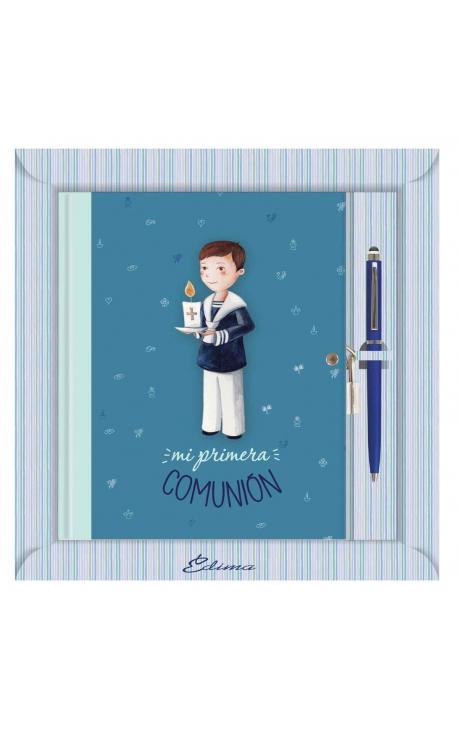 Diario de Comunión con Boligrafo y Candado Edima 520847