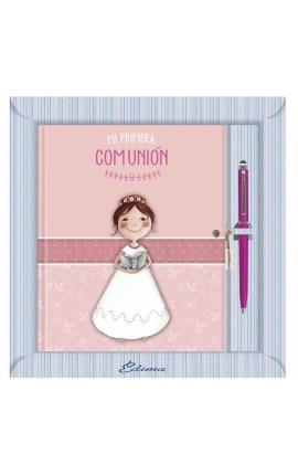 Diario de Comunión con Boligrafo y Candado Edima 520846