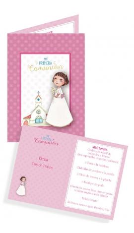 Pack 10 Foto Recordatorio o Invitación Comunión Edima 450844-B