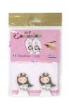 Pack 12 Etiquetas de Obsequio + Lazo Edima 410722-B