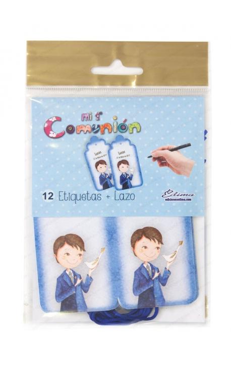Pack 12 Etiquetas de Obsequio + Lazo Edima 410725-B
