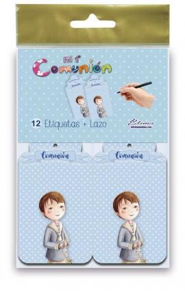Pack 12 Etiquetas de Obsequio + Lazo Edima 410841-B