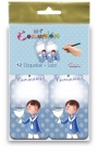 Pack 12 Etiquetas de Obsequio + Lazo Edima 410843-B