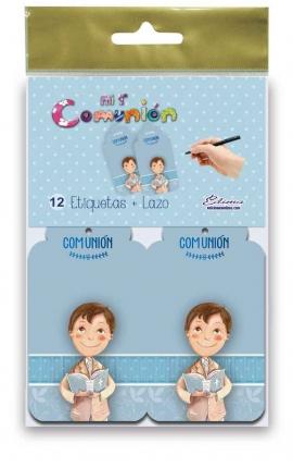 Pack 12 Etiquetas de Obsequio + Lazo Edima 410845-B