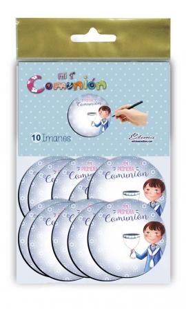 Pack 10 Imanes Edima 435843-B