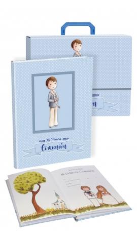 Libro de Firmas Comunión + Maletín Edima 500841