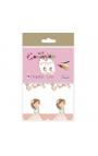 Pack 12 Etiquetas de Obsequio + Lazo Edima 410982-B