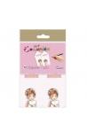 Pack 12 Etiquetas de Obsequio + Lazo Edima 410986-B