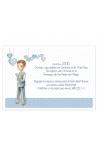 Pack 20 Invitaciones Comunión + Sobre Rosa Edima 413981-B