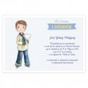 Pack 20 Invitaciones Comunión + Sobre Azul Edima 413985-B