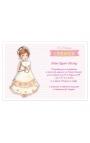 Pack 20 Invitaciones Comunión + Sobre Rosa Edima 413982-B