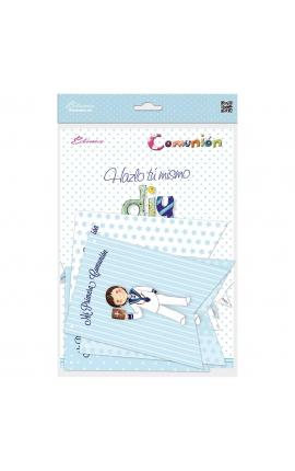 Pack 12 Banderines + 1 Banderín Personalizable Edima 465905-B