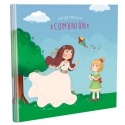 Libro de Comunión cuadrado con Estuche Lujo Edima 500972
