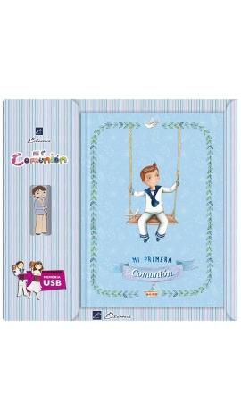 Libro de Firmas Comunión + Memoria USB 8GB Edima U500987