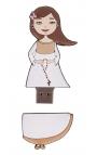 Libro de Firmas Comunión + Memoria USB 8GB Edima U500986
