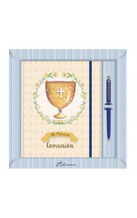 Diario de Comunión con Boligrafo Edima 520989