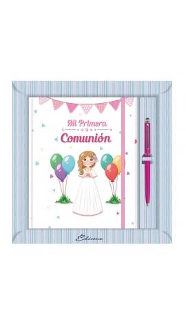 Diario de Comunión con Boligrafo Edima 520974