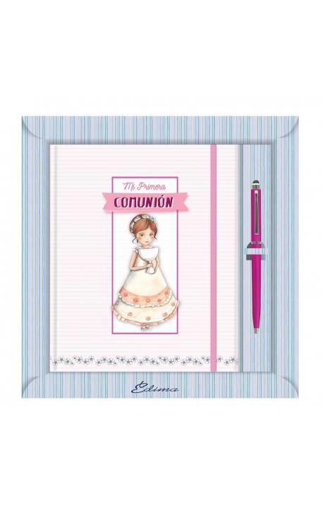 Diario de Comunión con Boligrafo Edima 520986