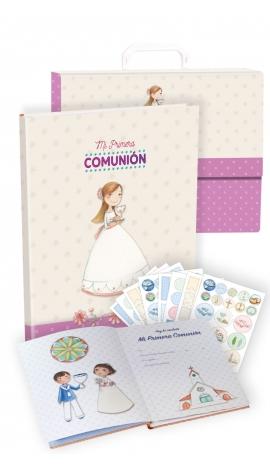 Libro de Firmas Comunión + Maletín Edima 500028