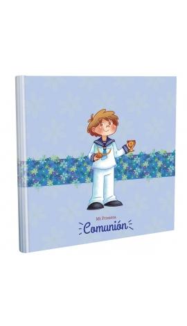 Libro de Comunión cuadrado con Estuche Lujo Edima 500031