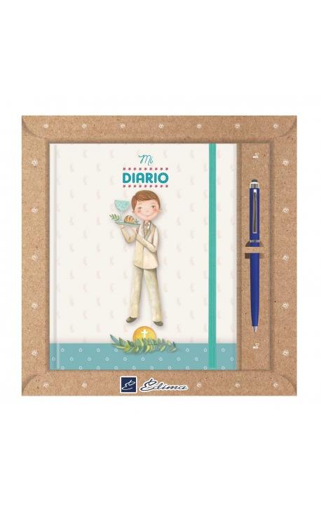 Diario de Comunión con Boligrafo Edima 520027