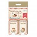 Pack 12 Etiquetas de Obsequio + Lazo Edima 410022-B