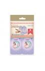 Pack 12 Etiquetas de Obsequio + Lazo Edima 410024-B