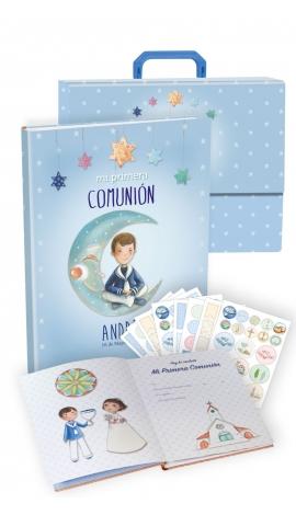Libro de Comunión Personalizado Niño Opción A Edima