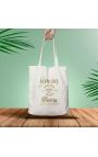 Bolsa ecológica de algodón personalizada