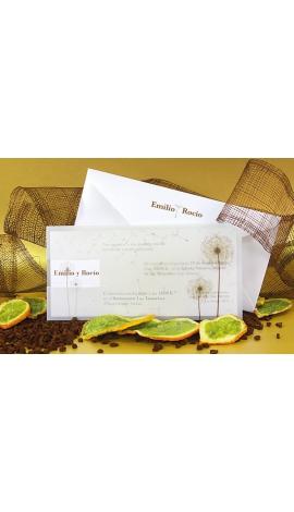 INVITACIÓN DE BODA VINTAGE PK100528